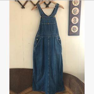 Pointer Brand • Denim Maxi Jumper Dress